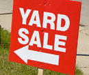 5 tips to having a successful yard or garage sale.